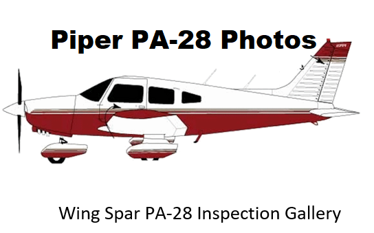 Piper PA-28 Wing Spar Inspection